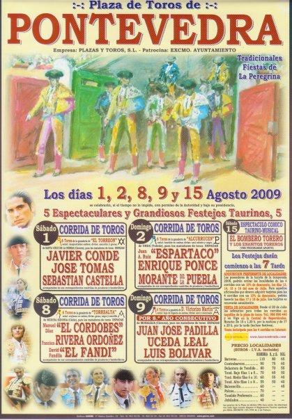 Cartel Feria Taurina